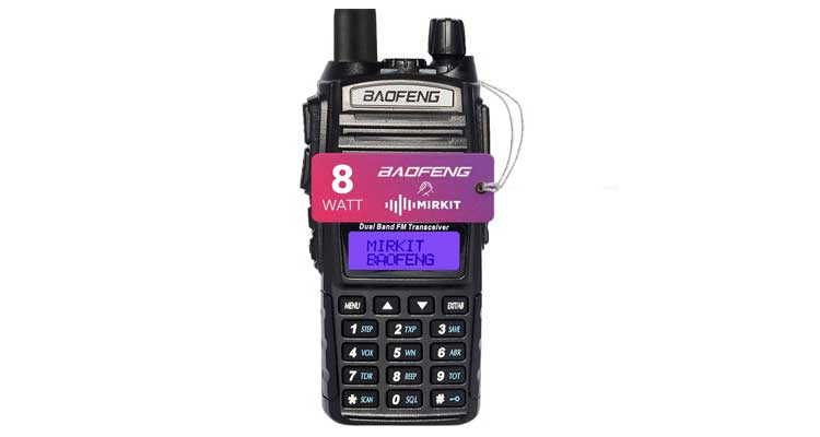 Baofeng bf-f8hp vs uv-82hp