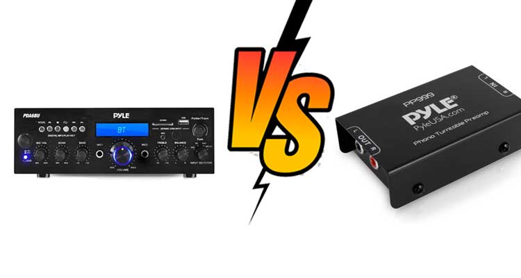 Preamp vs Receiver