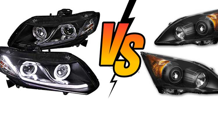 Projector Headlights vs Reflector