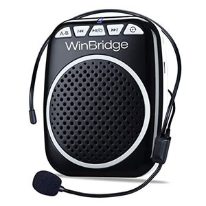 WinBridge Rechargeable Portable Voice Amplifier