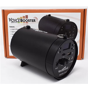 VoiceBooster Amplifier & Mp3 Player & FM Radio
