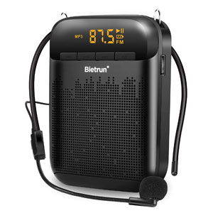 Bietrun Classroom Amplifier with Microphone