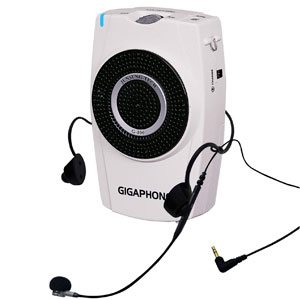GIGAPHONE G100 Portable Amplifier 30W with Microphone for Teaching