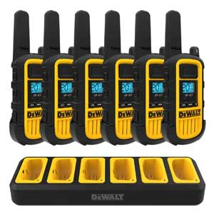 Case of 10, Retevis RT21 Rechargeable Two Way Radios Heavy Duty Walkie Talkies for Adults