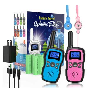 Wishouse Rechargeable Family Two Way Radio with Charger Battery