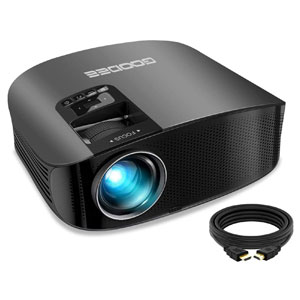 GooDee Home Theater Projector Support 1080P