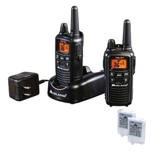 Midland - 36 Channel FRS Two-Way Radio - Up to 30 Mile Range