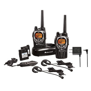 Midland 50 Channel Waterproof GMRS Two-Way Radio with 142 Privacy Codes