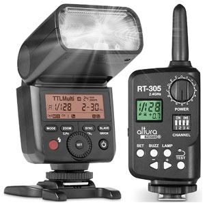 Altura Photo AP-305S Camera Flash and Wireless Manual Trigger