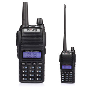 BaoFeng Dual-Band 136-174/400-520 MHz FM Ham Two-Way Radio, Transceiver