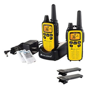 Midland - 36 Channel FRS Two-Way Radio - Up to 30 Mile Range, 121 Privacy Codes