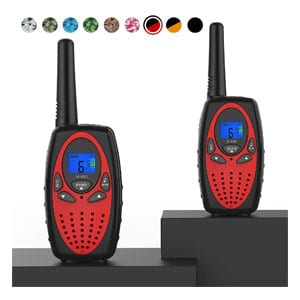 Topsung FRS Long Range Two Way Radio with Mic LCD Screen