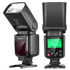 Neewer NW635 TTL GN58 Flash Speedlite with LCD Display