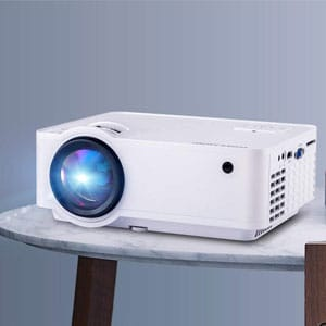 HD Projector Compatible with Phone,Computer,Laptop