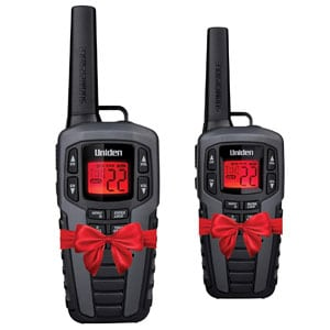 Uniden Up to 50 Mile Range FRS Two-Way Radio Waterproof, 22 Channels, 142 Privacy Codes