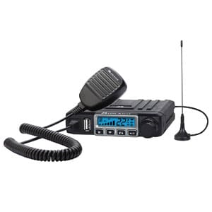 15 Watt GMRS Two-Way Radio - 8 Repeater Channels, 142 Privacy Codes