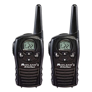 FRS Walkie Talkies with Channel Scan - Hands-Free VOX
