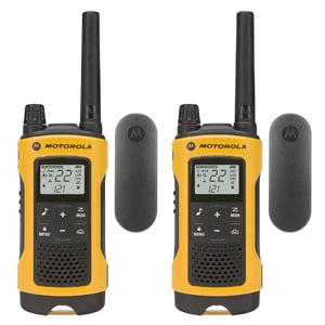 Motorola T402 Rechargeable Two-Way Radios (2-Pack)