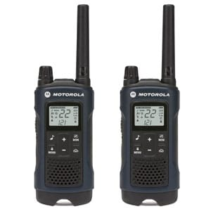 3 Long Range Rechargeable Walkie Talkies for Adults - NOAA FRS GMRS 2 Way Radios