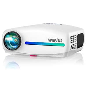 WiMiUS S1 Native 1920 x 1080P Projector HDR Input Support 4K