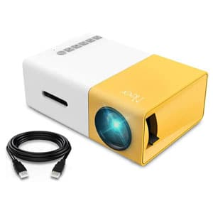 Meer Portable Pico Full Color LED LCD Video Projector
