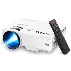 Portable Video-Projector,55000 Hours Multimedia Compatible with Full HD