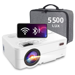 Artlii HD WiFi Bluetooth Projector with Smartphone Screen