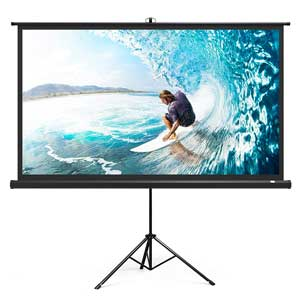 TT-HP020 Indoor Outdoor Projection Screen 4K HD with Wrinkle-Free Design