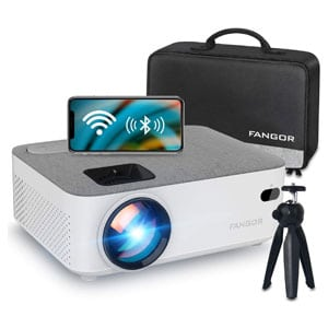Full HD WiFi, Bluetooth Portable Projector 1080P Supported
