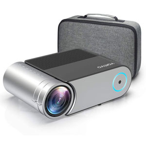 Vamvo L4200 Portable Video Projector, Full HD 1080P; Outdoor Movie Projector