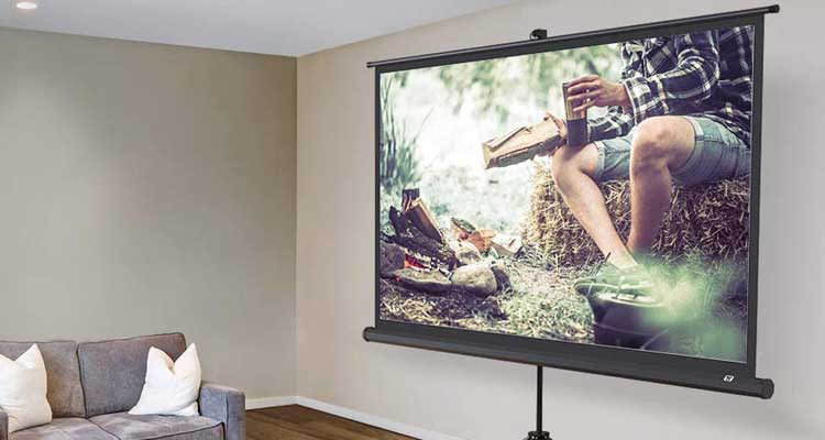 Best Projector Screen For Daytime Viewing