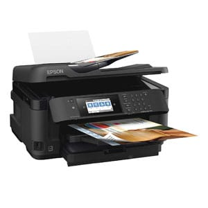 Epson Inkjet Printer For Sublimation with Wireless, Copy, Scan, Fax, Wi-Fi