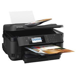 Epson Large Format Printers For Photographers with Wireless, Copy, Scan, Fax, Wi-Fi