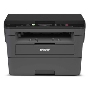 Brother Laser Printer Convenient Flatbed Copy & Scan | All In One Printer Reviews