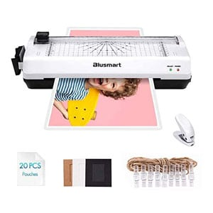5 in 1 Blusmart Laminator For Homeschool, A4, Trimmer, Corner Rounder