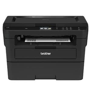 Brother Compact Monochrome Laser Printer Flatbed Copy & Scan, Wireless