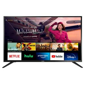 All-New Toshiba 43-inch Smart HD 1080p TV For Bright Rooms - Fire TV Edition