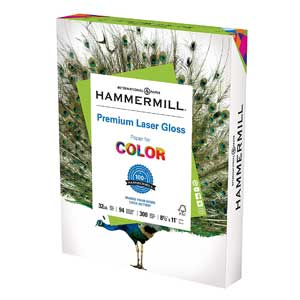 Hammermill Glossy Paper, Laser Gloss Copy Paper, Made in the USA