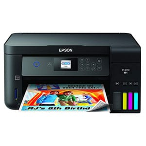Epson Wireless Printer For Heavy Cardstock with Scanner, Copier